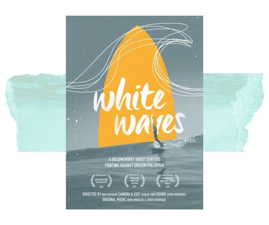 white waves