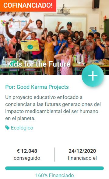 Crowfunding Kids for the Future
